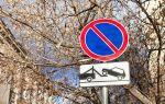 Знак стоянка запрещена и его действие