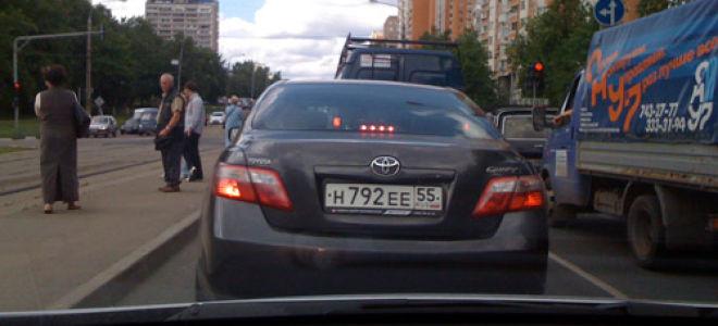 Машины с регионом 55