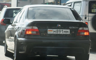 RSO — какой регион на номере авто?