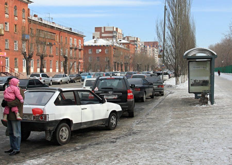 Штраф за парковку на остановке