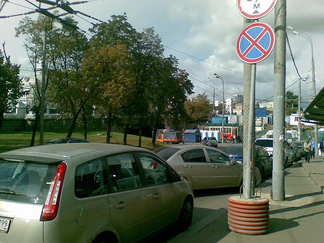 Штраф за парковку под знаком