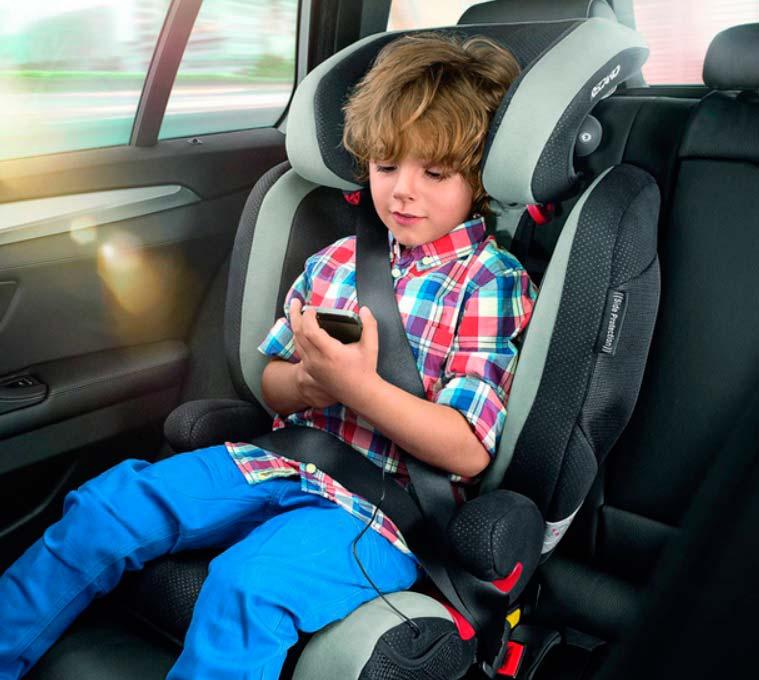 Езда с детьми в автокреслах