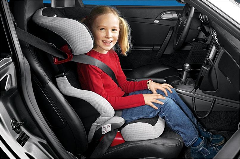 Возраст детей при езде в автокресле