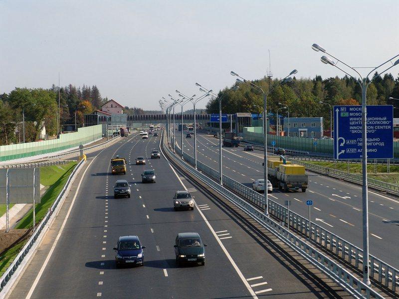 Скорость на трассе М1