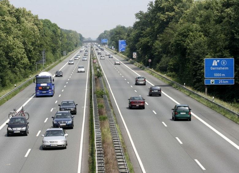 Правила ПДД на немецких автобанах
