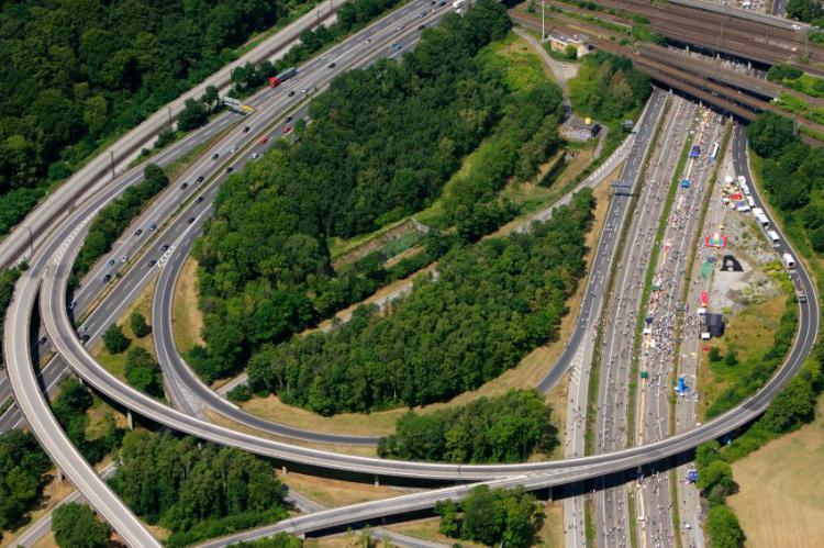 Развязки на автобанах в Германии