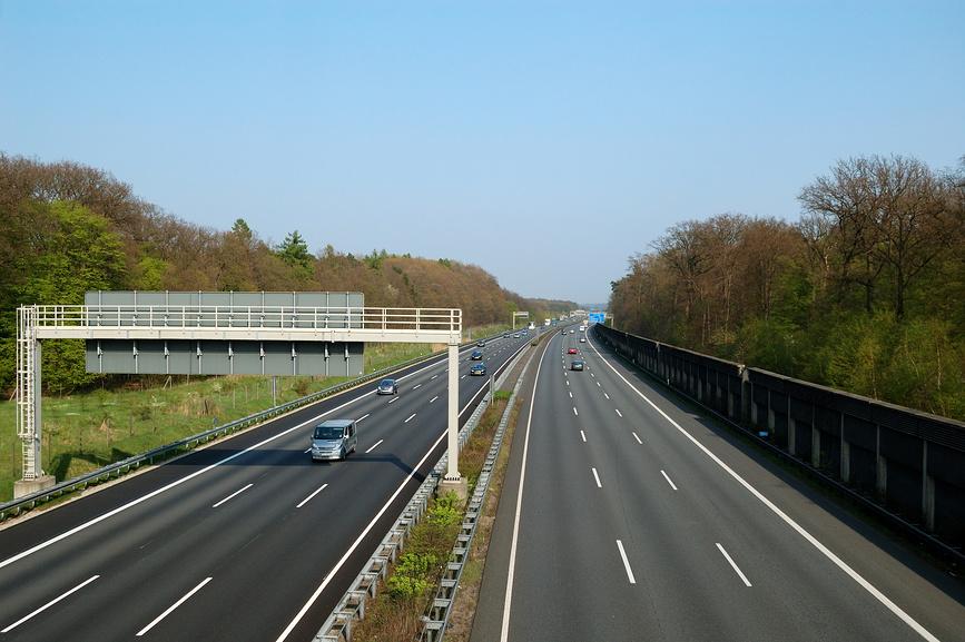 Скорости на автобанах в Германии
