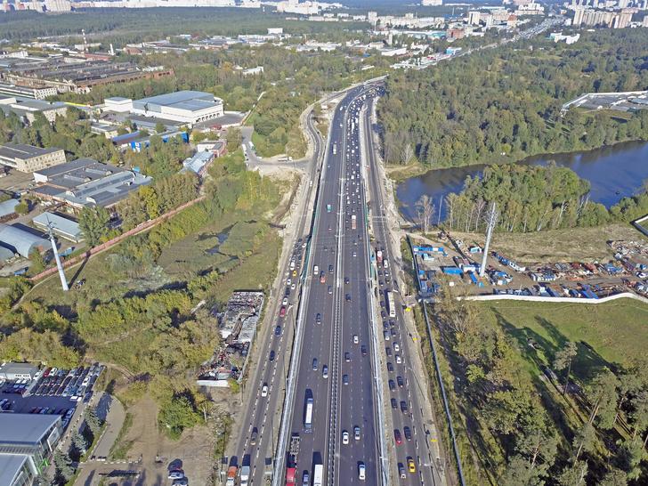Разрешенная скорость на автодороге М7
