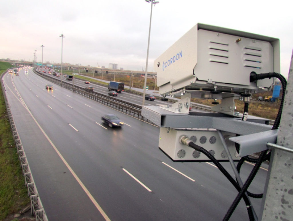 Камеры видеофиксации на МКАДе