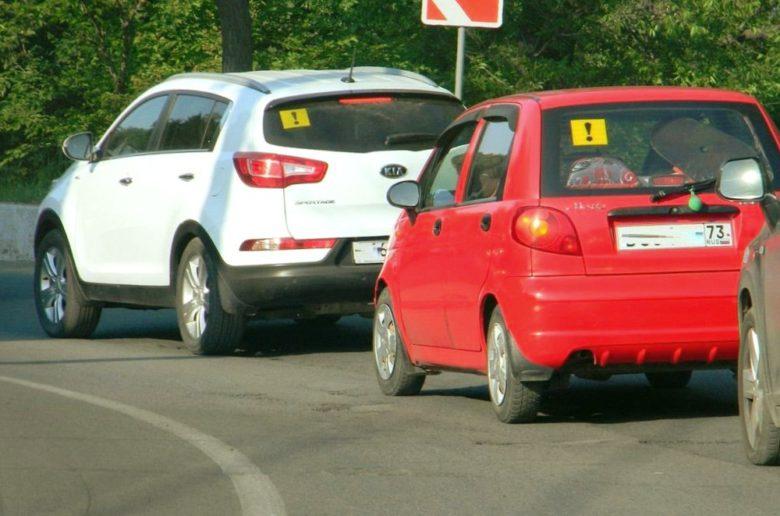 Ограничение скорости начинающим водителям