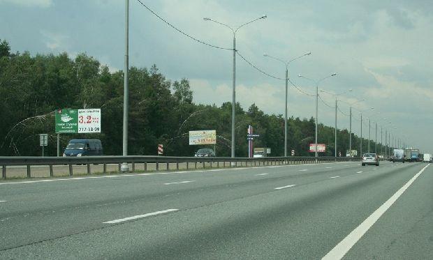Максимальная скорость на Симферопольском шоссе